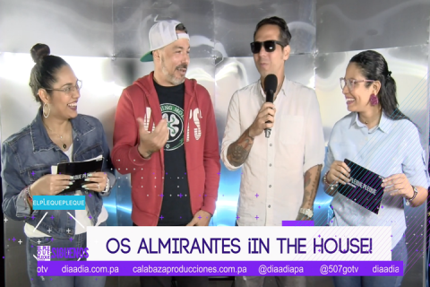 Os Almirantes ¡in the house!